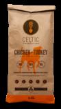 Celtic Connection kip met kalkoen & zoete aardappel 12 kg_