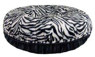 Bessie and Barnie Bagel Black Puma-Zebra