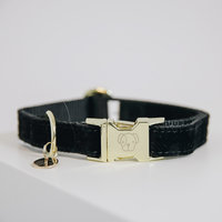 Halsband Kentucky corduroy black