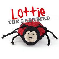 Beco plush toy Lottie het lieveheersbeestje