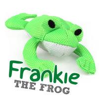 Beco plush toy Franky de kikker