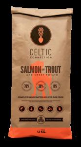 Celtic Connection zalm met forel & zoete aardappel 12 kg